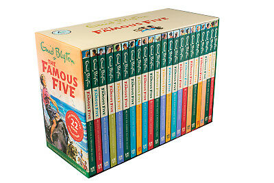 Enid Blyton The Complete Famous Five Library