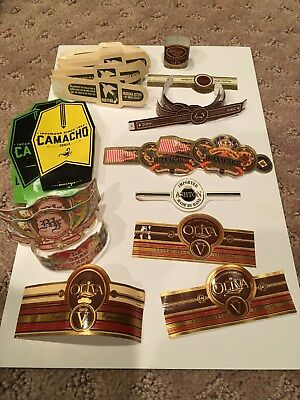 65+ Cigar Bands + 10+ Sub bands! No Tobacco in this lot JW9