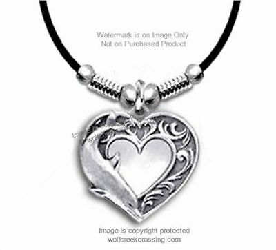 Dolphin Heart Love Necklace - Dolphins Jewelry Ocean Sea Gift - Free Ship  #l24*
