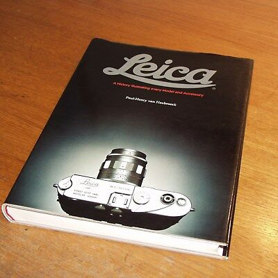LEICA BOOK A History illustrating every Model & Accessory ED 1 signed HASBROECK