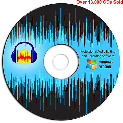 AUDACITY® 2019 (PRO Audio Music Editing and Recording Software