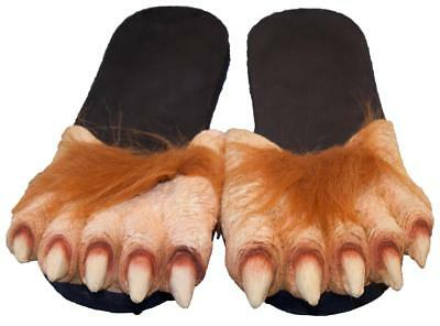 WERE WOLF MONSTER FEET M SIZE dressup halloween costume big shoes foot  WOLVES