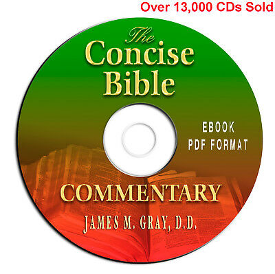 The Concise Bible Commentary-James Gray-Christian Scripture Study-eBook CD PDF