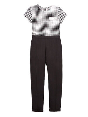 V by Very Gingham Jumpsuit in Multi Size 10 Years
