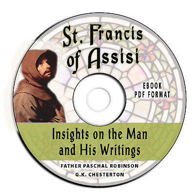 St. Francis of Assisi -GK Chesterton Christian Church Bible History-eBook CD PDF