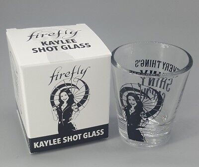 Firefly KAYLEE Everything's Shiny SHOT GLASS Loot Crate NEW Sealed