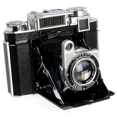 Zeiss Ikon Super Ikonta 533/16 Folding Camera with Tessar 8cm f/2.8 Lens       2