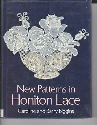 New Patterns  In Honiton  Lace Making Book