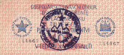 100 Lit Banknote Vf++ Note From Slovenia 1944!partizan Army Issued!pick-S105