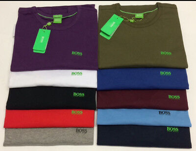 Hugo Boss Men's Crew Neck T-Shirt *Long Sleeve And Short Sleeve, Size S to XXL*