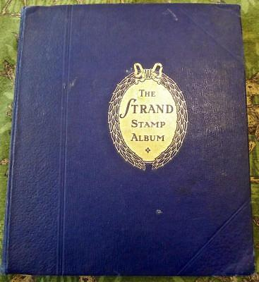 Worldwide Stamp Collection in an Old A-Z Strand Album - No Reserve!