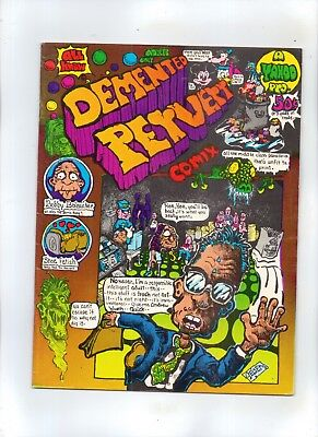 DEMENTED PERVERT COMIX No 1 (Adult Comic Book with  Foul Language)
