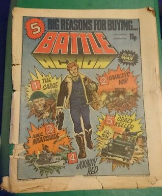 BATTLE ACTION Comic 3rd March 1979