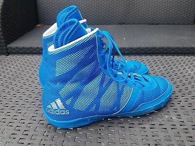 Blue Addidas Boxing Shoes/Boots Size UK 6.5