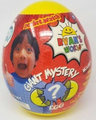 Ryan's World Giant Mystery Egg Toy Ryans  ToyReview