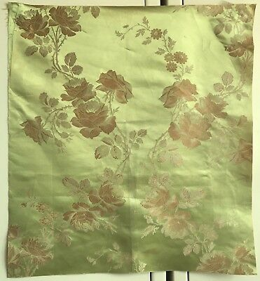 Beautiful Rare 19th C. French Silk Jacquard Fabric (2434)