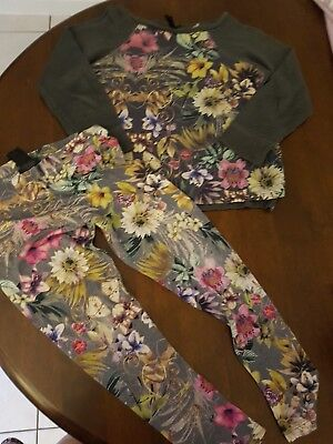 Next Floral set 7-8 Years