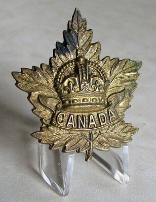 Canada Army Canadian General List CEF Cap Badge WWI WW1
