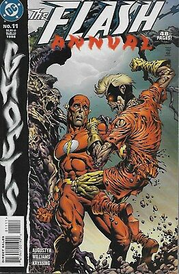 The Flash Annual No.11 / 1998 Ghosts / Bernie Wrightson Cover