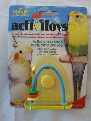ACTIVITOYS - LEAP FROG TOY FOR BIRDS by JW Pet Company - INSIGHT products