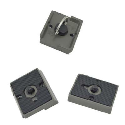 "1/4"" Metal Alloy Quick Release Plate 200PL-14 PL for Manfrotto Bogen Tripod Head"