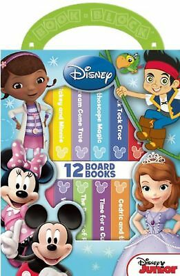 My First Library Disney Junior Board Book Box Set [Board book] [Jan 01, 2014]...