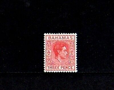 Bahamas - 1952 - Kg Vi - King George - Profile - # 156 - Mint - Mnh Single!