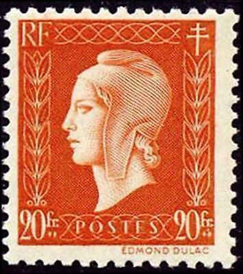 """FRANCE STAMP TIMBRE N° 700 """" MARIANNE DULAC 20F """" NEUF xx LUXE"""