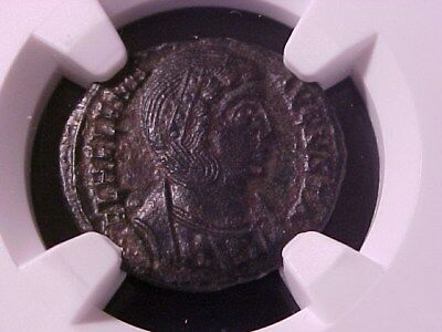 Roman Empire Helena 324-328 Ad (Mother Of Constantine) Ae3 (Bi Nummus) Ch Vf Ngc