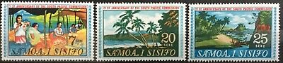 SAMOA 1968 21st. Anniv of South Pacific Commission SG302/4 MNH