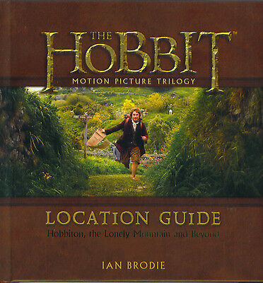 The Hobbit Location Guide Book Ian Brodie 2014 Lord Of The Rings 176 pagers