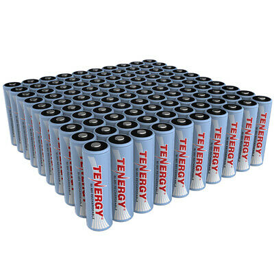 Tenergy Bulk AA/AAA 2600mAh/1000mAh NiMH Rechargeable Batteries Cells 1.2V Lot