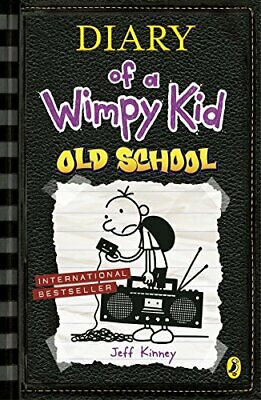 Diary of a Wimpy Kid: Old School by Kinney, Jeff Book The Cheap Fast Free Post