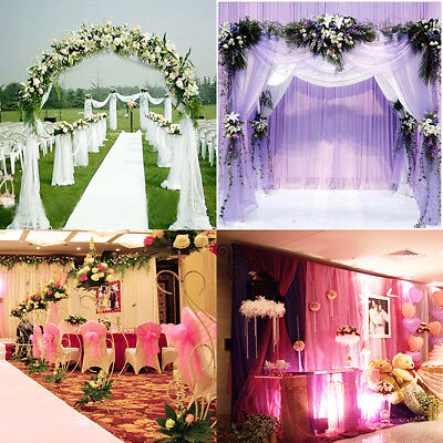 1/10/50/100/200 Organza Sashes Chair Cover Bow Sash Wider Sashes For A Full Bow