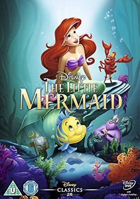 The Little Mermaid [DVD] [1989] -  CD GSLN The Fast Free Shipping
