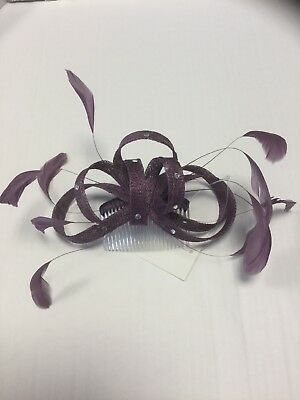 fascinator Comb Grape