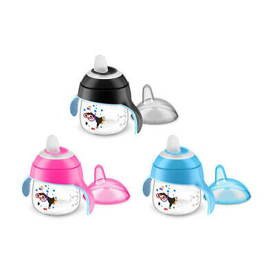 Philips Avent Premium Spout Cup 200ml 6m+ (Choice Of Colour) (A84)