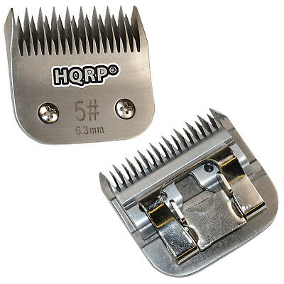 "HQRP Size-5 Animal Clipper Blade for Andis Pet Grooming (Leaves hair 1/4""-6.3mm)"
