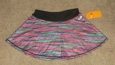 C9 by Champion Girls Striped Athletic Tennis Skirt 99064 Size L Large 10-12