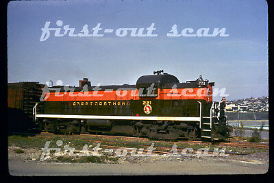 DUPLICATE SLIDE - Great Northern GN 221 ALCO RS-3