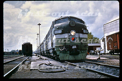 DUPLICATE SLIDE - Northern Pacific NP 6506A Passenger Scene