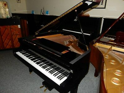 Baby Grand Piano Piano Finished In High Gloss Black