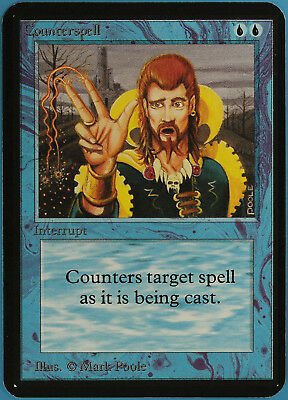 mtg magic alpha counterspell noBeta high $ repack englisch m/nm dual + mox #10
