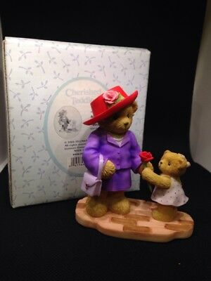 """Cherished Teddies """"Thanks For Showing Me That Life Is Beautiful"""" Figurine"""