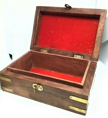 limited edition hurry Handmade wooden box  (15.2 x 10.2 x 7.6 cm; 372 g