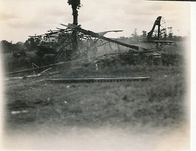 1944 D-Day Normandy USAAF 435th TCG 77th TCS Glider airplane crash Photo #18