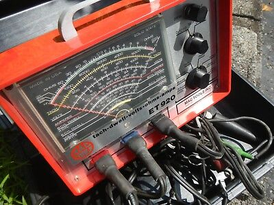 Used MAC Tools ET 920 Volt Ohm Amp Analyzer Tester With all Cables Working