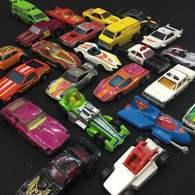 23 Vintage Die Cast Car Toys Hot Wheels Matchbox Redline Beetle Tomica Corgi