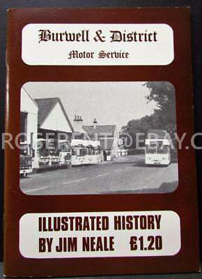 1970s Burwell & District Motor Service - Illustrated History by Jim Neale