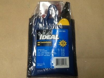 ideal 33-1025 IDC installation kit insulation displacement UR-I connector tools